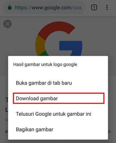 3 Cara Menyimpan Gambar Dari Google Ke Galeri Dengan Mudah