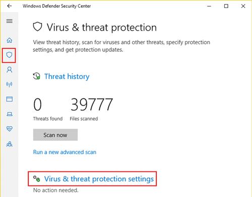 cara menonaktifkan windows defender