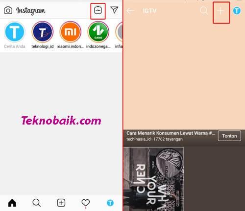 cara upload video instagram lebih dari 1 menit