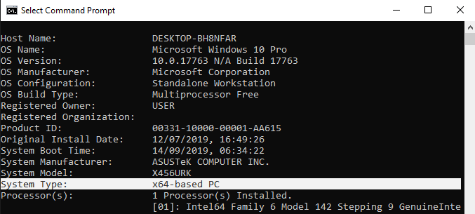 cara mengetahui bit laptop windows